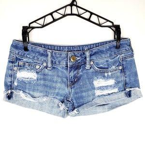 🆕️ American Eagle | Low Rise Cotton Jean Shorts